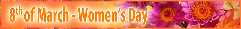 8th of March - Women's Day