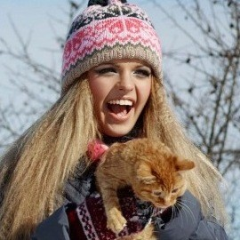 Pretty pen pal Svetlana, 23 yrs.old from Lutsk, Ukraine