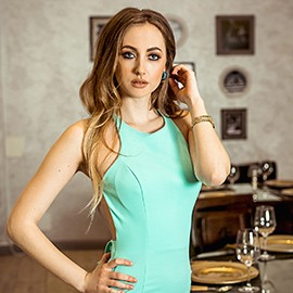 Charming bride Anastasia, 24 yrs.old from Kishinev, Moldova