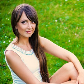 Charming wife Elena, 25 yrs.old from Zaporozhye, Ukraine