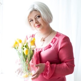 Charming miss Oksana, 50 yrs.old from Kiev, Ukraine