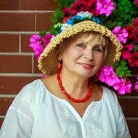 Nice lady Eugenia, 72 yrs.old from Kiev, Ukraine