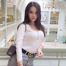 Charming girlfriend Alina, 19 yrs.old from Moscow, Russia